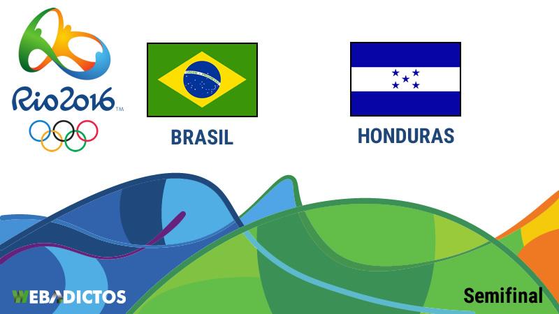 Brasil vs Honduras, Semifinal en Río 2016 ¡En vivo por internet! | Futbol Varonil - brasil-vs-honduras-semifinal-rio-2016