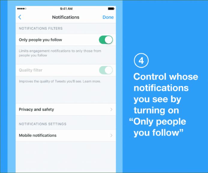 Actualización en la configuración de notificaciones de Twitter - configuracion-de-notificaciones