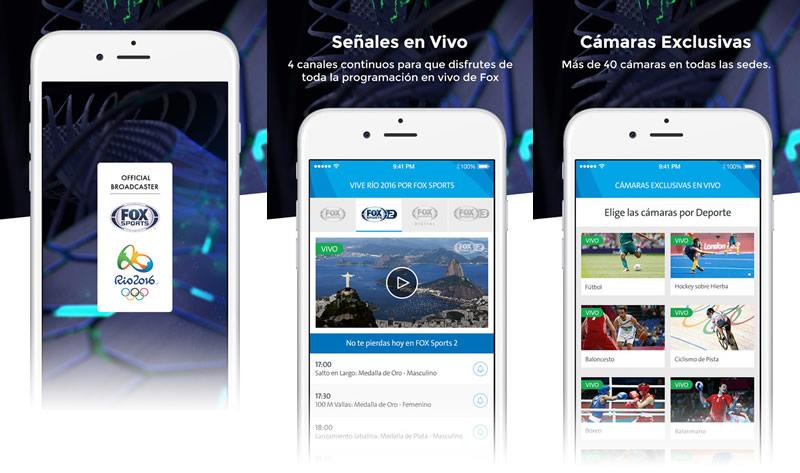 Fox Sports Río 2016: Ve los Juegos Olímpicos 2016 en vivo y ¡más! - fox-sports-rio-2016