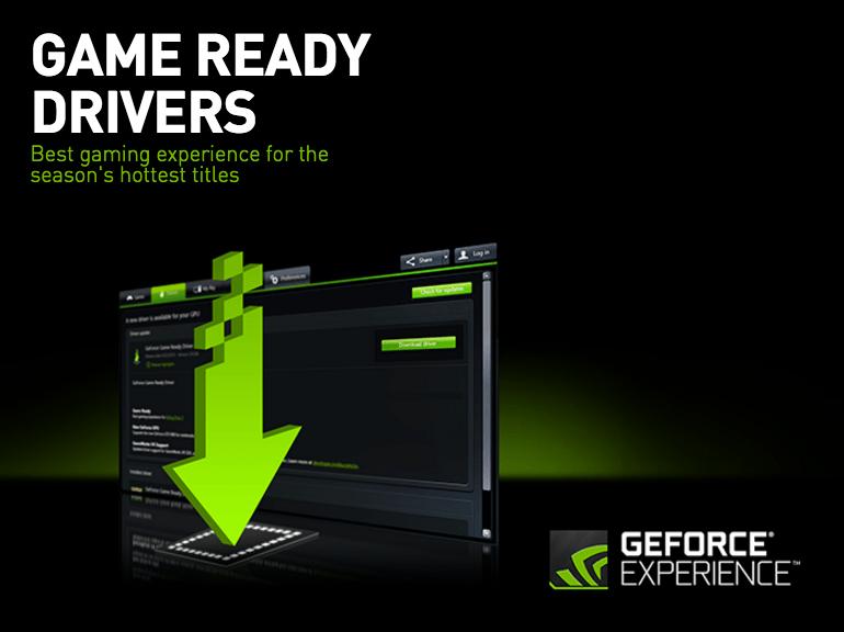 Nvidia actualiza de nuevo la plataforma GeForce GTX el driver - game-ready-driver
