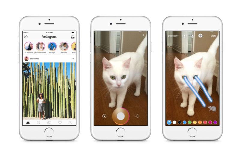 Instagram Stories, el nuevo formato para contar historias en Instagram - instagram-stories-creating-800x530