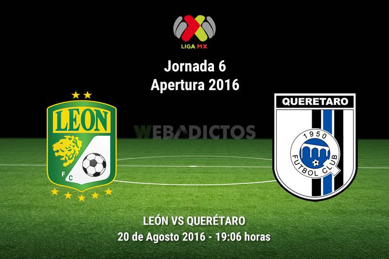 León vs Querétaro, Jornada 6 del Apertura 2016 | Resultado: 2-1 - leon-vs-queretaro-jornada-6-apertura-2016