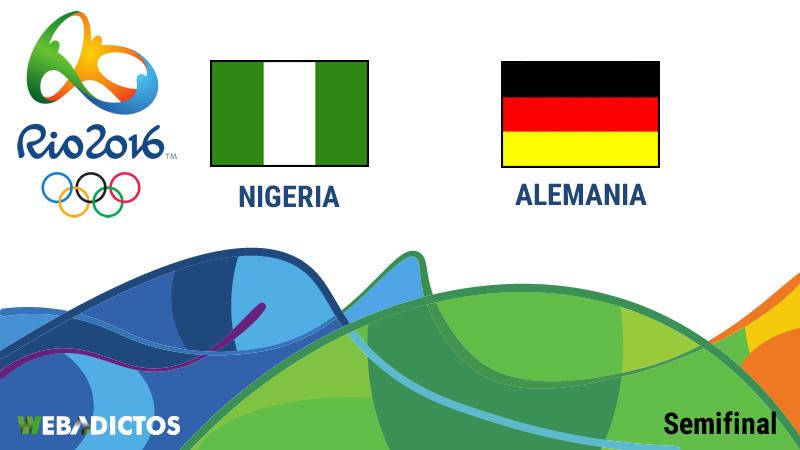 Nigeria vs Alemania, Semifinal Río 2016 ¡En vivo por internet! - nigeria-vs-alemania-semifinal-rio-2016