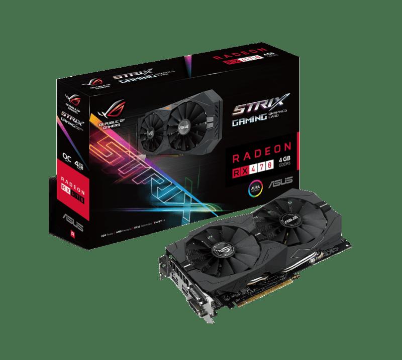ASUS Republic of Gamers anuncia la tarjeta de video STRIX RX 470 - tarjeta-de-video-strix-rx-470-asus-rog-800x718
