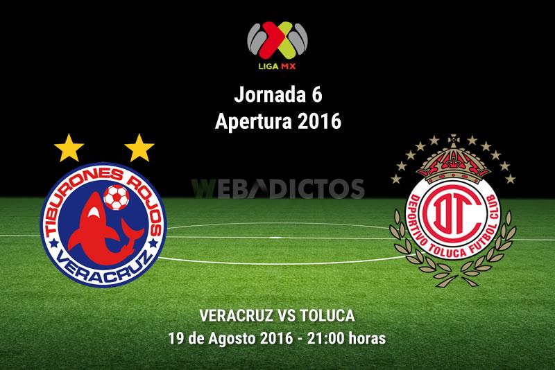 Veracruz vs Toluca, Jornada 6 del Apertura 2016 | Resultado: 2-2 - veracruz-vs-toluca-jornada-6-apertura-2016