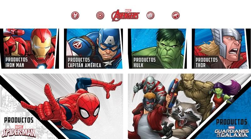 Amazon México lanza tienda especial de Marvel - amazon-mexico-marvel