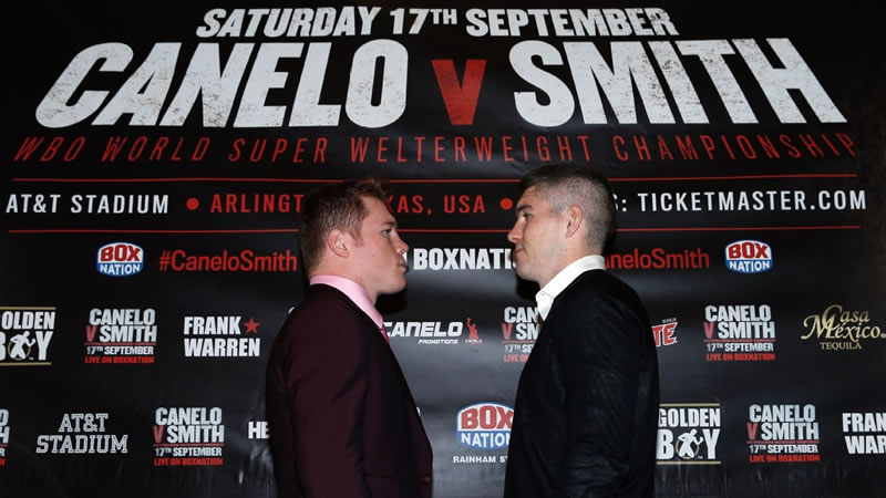 Pelea de Canelo vs Smith este 17 de septiembre ¡Imperdible! - canelo-vs-smith-por-internet