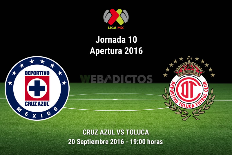Cruz Azul vs Toluca, Fecha 10 del Apertura 2016 | Resultado: 0-1 - cruz-azul-vs-toluca-apertura-2016