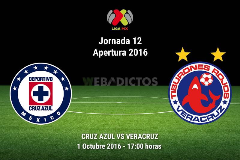 Cruz Azul vs Veracruz, J12 del Apertura 2016 | Resultado: 5-3 - cruz-azul-vs-veracruz-apertura-2016