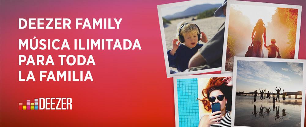 Deezer Family, el nuevo plan para familias de Deezer - deezer-family