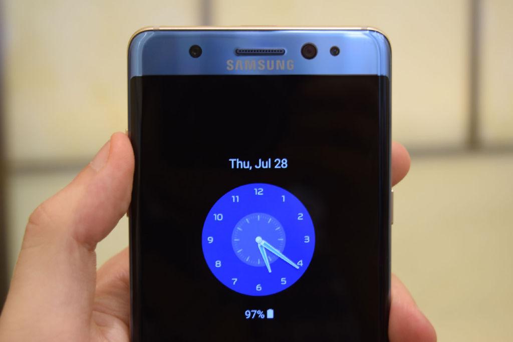 Planean bloquear al Galaxy Note 7 en vuelos comerciales de los EE.UU. - galaxy-note-7-aod