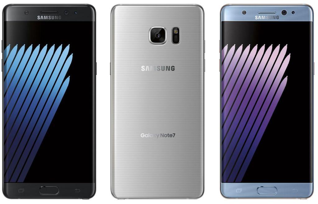 Los Galaxy Note 7 que no se devuelvan serán desactivados remotamente - galaxy-note-7-colors