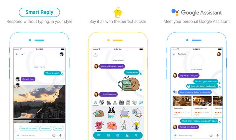 Allo, la app de mensajería de Google ya está disponible - google-allo-descargar
