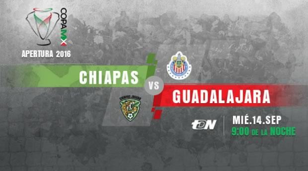 Jaguares vs Chivas, J6 de la Copa MX A2016 | Resultado: 2-2 - jaguares-de-chiapas-vs-chivas-en-vivo-copa-mx-apertura-2016