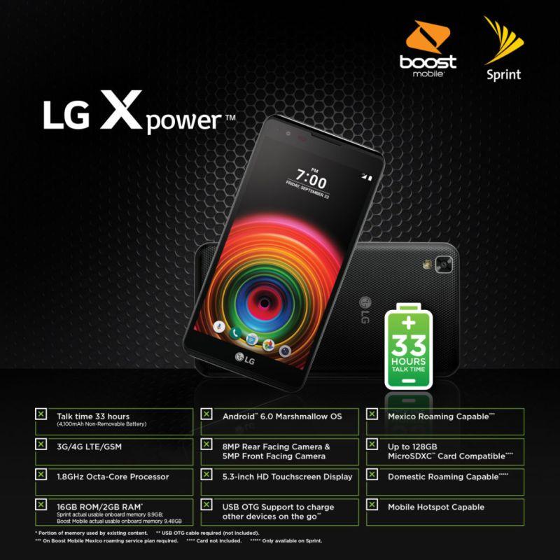 LG X power: primer smartphone impulsado por MediaTek fue presentado por Sprint - mediatek_sprint_lg-x-power