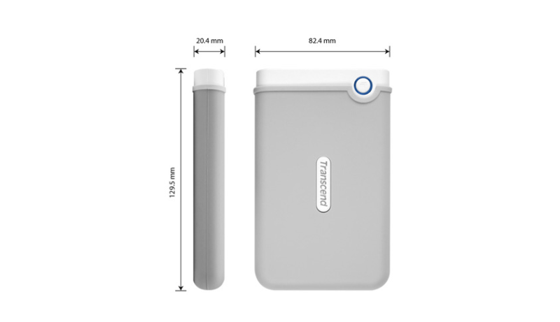 Disco duro portátil StoreJet 100 para Mac Transcend 2TB [Review] - medidas-disco-duro-portatil-storejet-100