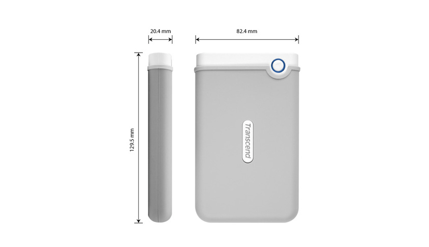 medidas disco duro portatil storejet 100 Disco duro portátil StoreJet 100 para Mac Transcend 2TB [Review]