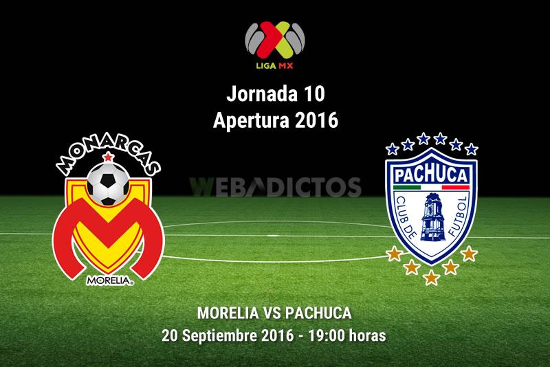 Morelia vs Pachuca, Jornada 10 del Apertura 2016 | Resultado: 1-5 - monarcas-morelia-vs-pachuca-apertura-2016