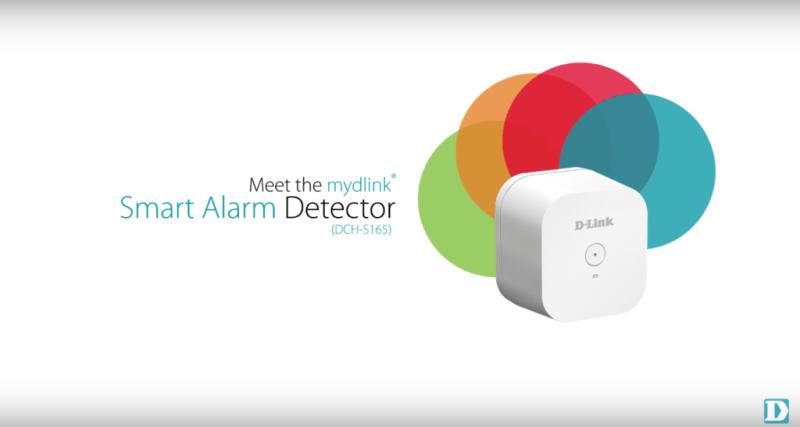 D-Link lanza un detector de incendios y ruidos inteligente - mydlink-smart-alarm-detector