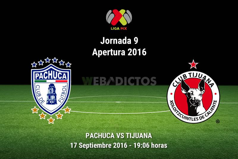 Pachuca vs Tijuana, Jornada 9 del Apertura 2016   Resultado: 2-2 - pachuca-vs-tijuana-apertura-2016