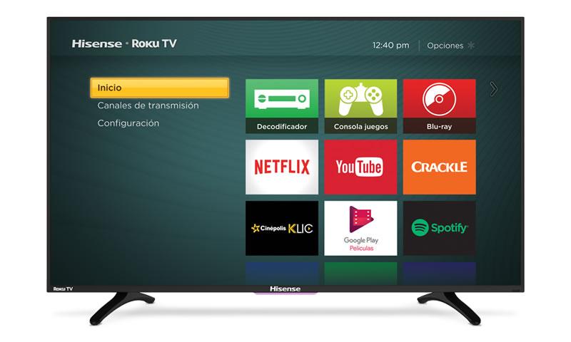 Este es el precio de las pantallas Hisense con Roku TV en México - pantallas-hisense-roku-tv-mexico