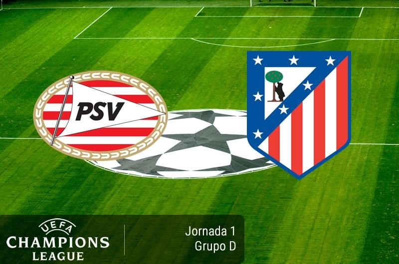 PSV vs Atlético Madrid, Champions League 2016-2017 | Resultado: 0-1 - psv-vs-atletico-de-madrid-champions-league-2016-2017