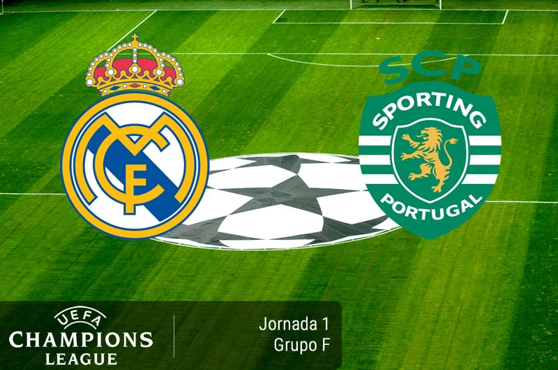 Real Madrid vs Sporting, Champions League 2016/17   Resultado: 2-1 - real-madrid-vs-sporting-champions-league-2016-2017