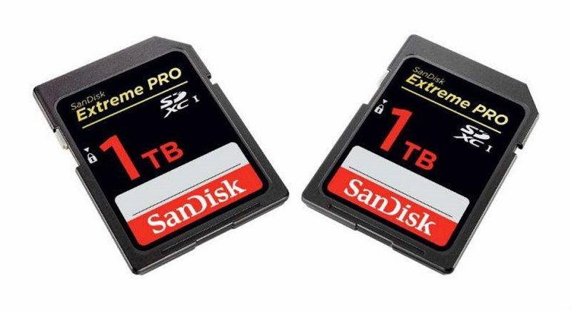 SanDisk prepara la primera tarjeta SD de 1TB - sandisk-1tb-800x436