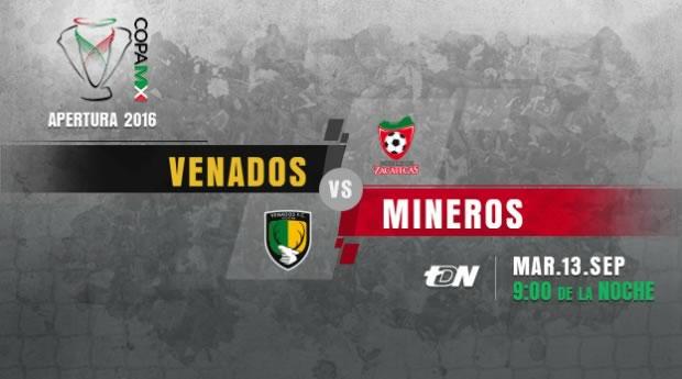 Venados vs Mineros, J6 de la Copa MX A2016   Resultado: 4-4 - venados-vs-mineros-en-vivo-copa-mx-apertura-2016