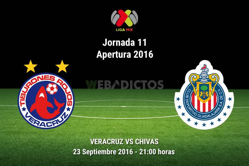 Veracruz vs Chivas, Jornada 11 del Apertura 2016 | Resultado: 0-1 - veracruz-vs-chivas-apertura-2016