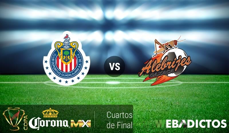 Chivas vs Alebrijes de Oaxaca, Copa MX A2016 | Resultado: 1-0 - chivas-vs-alebrijes-oaxaca-cuartos-de-copa-mx-apertura-2016