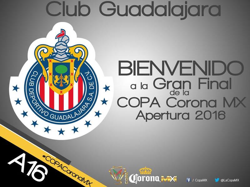 ¡Definido! Chivas vs Querétaro será la final de la Copa MX Apertura 2016 - chivas-vs-queretaro-es-la-final-de-la-copa-mx