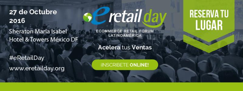 México, continúa su crecimiento en comercio electrónico - eretail-day-mexico-2016-1-800x302