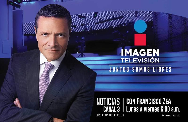 Conoce la programación de Imagen Televisión, el nuevo canal de TV abierta en México - francisco-zea-imagen-television