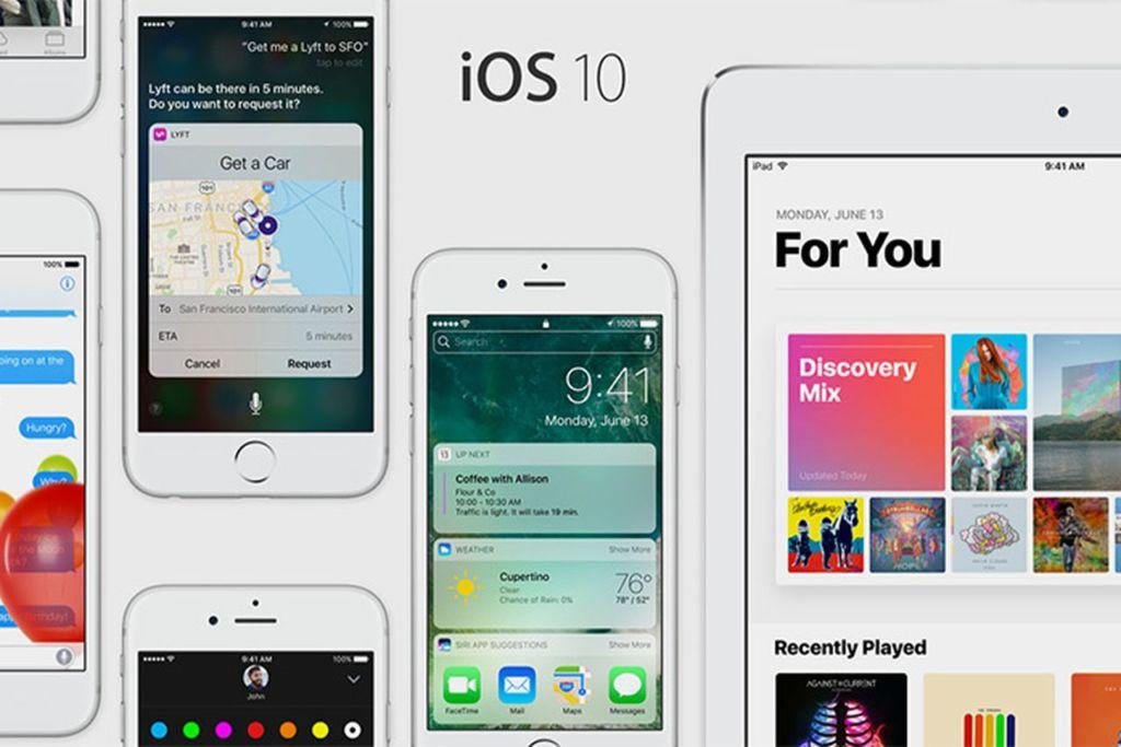 iOS 10 está instalado en más de la mitad de los dispositivos móviles de Apple - ios-10-devices