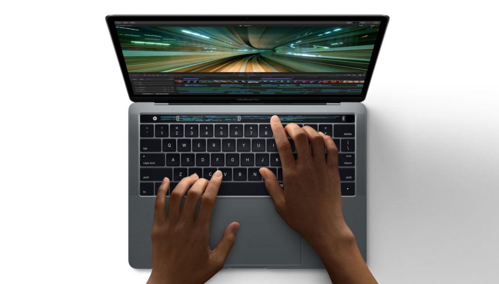Touch Bar de la nueva MacBook Pro corre una versión modificada de iOS - macbook-pro-touchbar