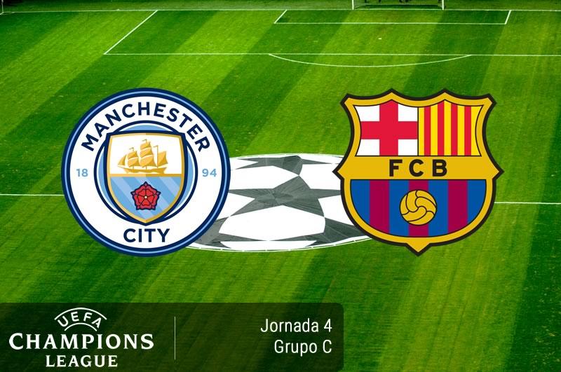 Manchester City vs Barcelona, Champions 2016   Resultado: 3-1 - manchester-city-vs-barcelona-champions-league-2016-2017