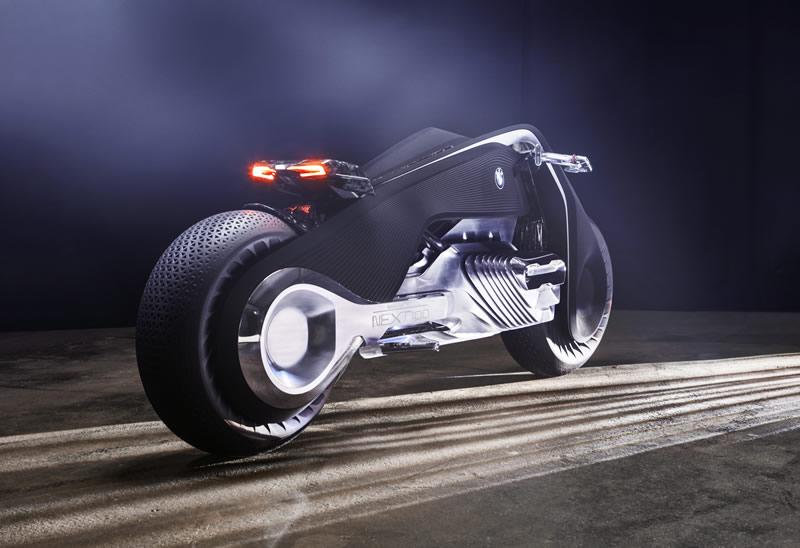 Las motos del futuro según BMW: BMW Motorrad VISION NEXT 100 - motos-del-futuro-bmw-motorrad-vision-next-100