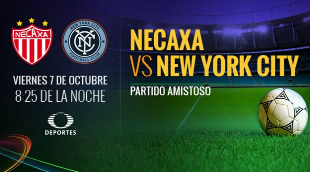 Necaxa vs New York City, partido amistoso 2016 | 7 octubre - necaxa-vs-new-york-city-fc-en-vivo-tdn