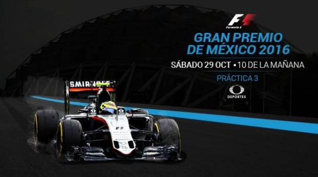 Ve las prácticas del Gran Premio de México 2016 en vivo en tus dispositivos - practica-3-gran-premio-de-mexico-2016