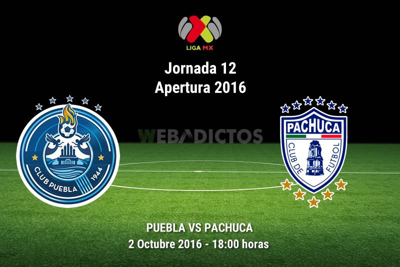 Puebla vs Pachuca, J12 del Apertura 2016   Resultado: 1-1 - puebla-vs-pachuca-apertura-2016