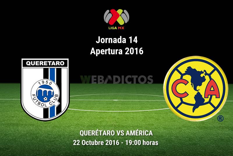 Querétaro vs América, J14 del Apertura 2016 | Resultado: 1-1 - queretaro-vs-america-apertura-2016