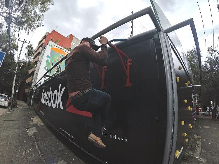 Reebok crea un gym urbano en la CDMX - reebok-the-gym-is-everywhere-4