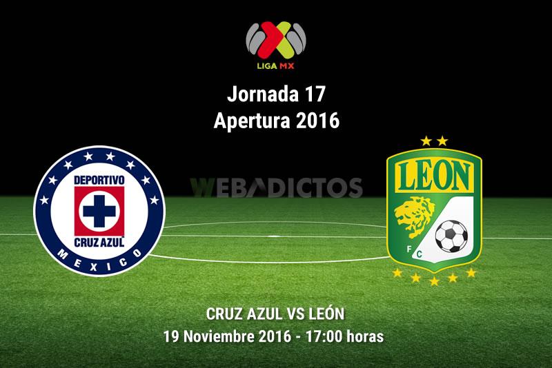 Cruz Azul vs León, Jornada 17 del Apertura 2016   Resultado: 2-3 - cruz-azul-vs-leon-apertura-2016