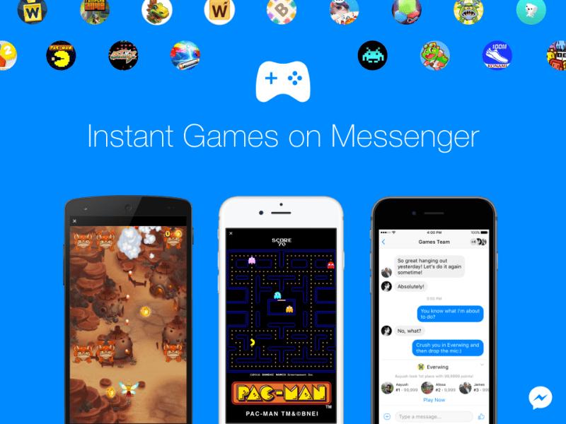 Facebook Messenger ahora incluye juegos - facebook-messenger-i-g