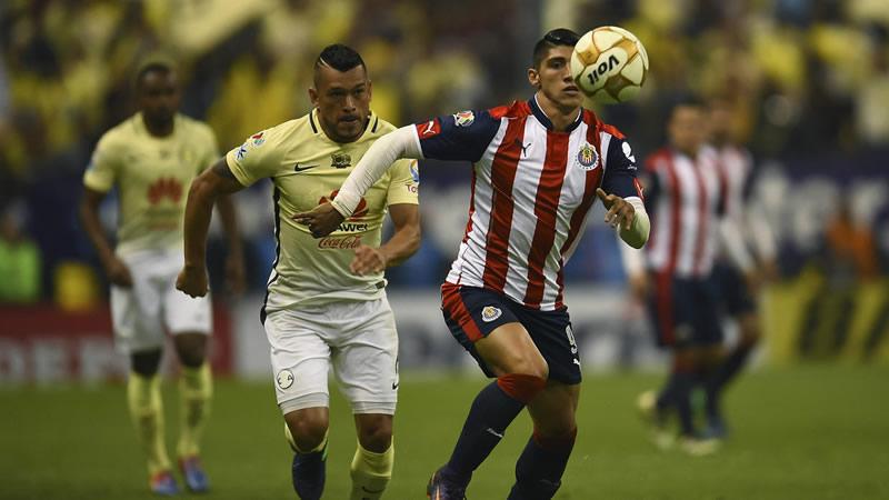 Horario Chivas vs América y dónde verlo, cuartos de final A2016 | vuelta - hora-chivas-vs-america-cuartos-de-final-apertura-2016