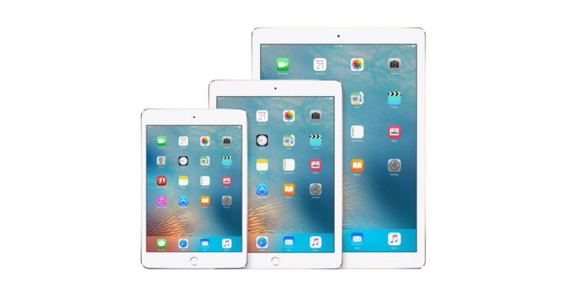 Apple lanzaría 3 modelos de iPad en 2017 - ipad-family