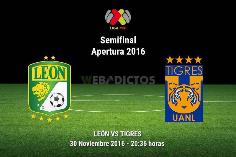 León vs Tigres, Semifinal Apertura 2016   Resultado: 0-1 - leon-vs-tigres-semifinal-apertura-2016