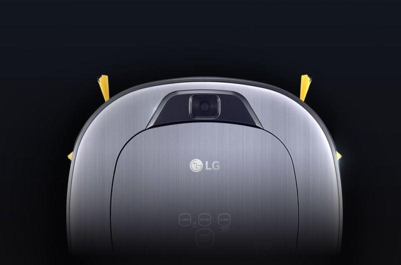 LG lanza Hombot Square Turbo: El único robot aspirador con videovigilancia - lg-hombot-robot-aspirador-cuadrado-cepillos-d