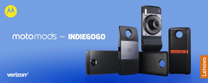 Motorola anda en búsqueda de nuevos Moto Mods - motorola-motomods-indiegogo